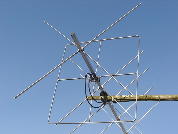 ANTENA X-QUAD 144 MHz 12 el 146 cm 10 5dBd