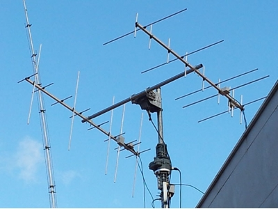 cross-band yagi 144/430 MHz 5+9 elem